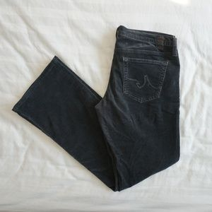 Ag Adriano Goldschmied Corduroy Boot Cut Jeans 30